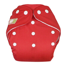 Clodi Popok Kain Bayi Little Hippo Eco - Color Red