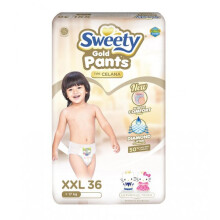 Sweety Popok Bayi Pantz Royal Gold  - XXL 36