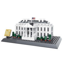 Wange Bricks 7018 White House Washington White