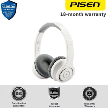 PISEN Wireless Headset Bluetooth LH300 3.5mm jack with Noise Cancelling Hi-Fi Bass