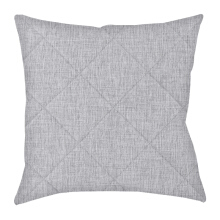 ARNOLD CARDEN Cushion Cover  - SC Jacquard Atmosphere Bentuk Silang - Grey