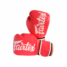 FAIRTEX Boxing Gloves BGV14 PinkWhitePiping 10 Oz