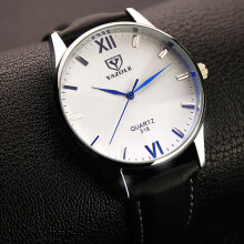 Zanzea 0051YAZOLE 318 Men Watch Luminous Display Casual Style Clock Quartz Watches