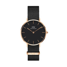 Daniel Wellington Classic Black Petite Cornwall 32mm Rose Gold