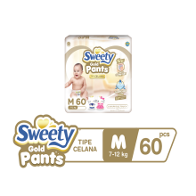 SWEETY Popok Gold Pants - M 60