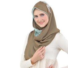 TATUIS Hijab Damour 060 - Brown-Mint