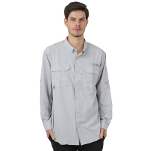 COLUMBIA Blood And Guts Iii Ls Woven Shirt - Cool Grey