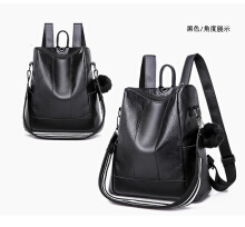 MWS 2in1 Multifunction Woman Backpack Black