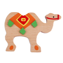 COZIME Creative Colored Rod Balance Children Puzzle Game Toys Camel Multicolor