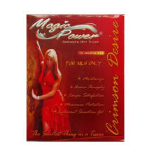 MAGIC POWER Tisu Magic Crimson Desire Tissue - isi 6 sachet