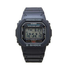 Casio G-SHOCK DW-5600E-1V Sports waterproof electronic watch-Black
