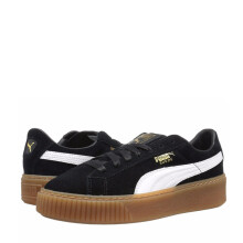 Puma Sepatu Suede Platform Women's Vintage Skateboard Shoes Casual Shoes 363559-02