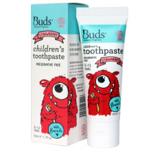 [free ongkir]Buds Children's Toothpaste  50ml (3 - 12 Year) - Strawberry