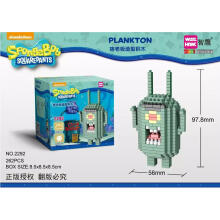 Bricks Weagle 2292 Plankton Spongebob Dark Green