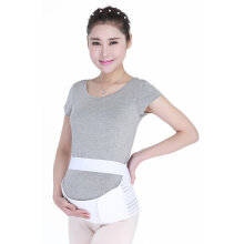 [COZIME] Pregnant Woman Maternity Belt Pregnancy Support-Waist Postpartum Abdomen Belt White  XL