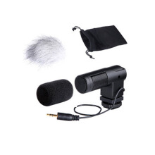 Boya BY-V01 Compact Stereo Video Microphone Black