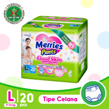 MERRIES Good Skin Popok Pants L - 20