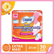 CHARM Pembalut Body Fit Extra Maxi Wing 30 pads