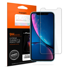 Tempered Glass iPhone XR Spigen Glas.tR SLIM HD Screen Protector