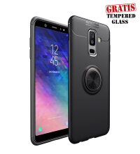 Weika Samsung A6 PLUS 2018 iring Invisible TPU Soft Case