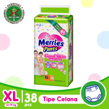 MERRIES Good Skin Popok Pants XL - 38