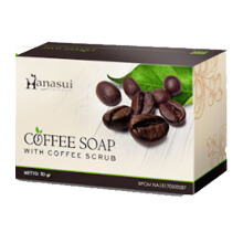Hanasui Coffee Soap - Sabun Kopi 30gr