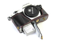 Nintyuda PU leather Digital Camera Bag For Olympus OMD E-M10Mark2