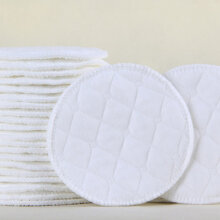 4PCS Collection Cover Nursing Breast Pads Breastfeeding Absorbent Cover