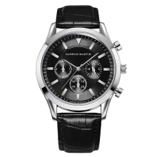 HANNAH MARTIN Men's Leather Strap Watch 303