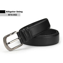 Vojoyce-Ikat Pinggang Pria -Men Fashion Genuine Leather Belt