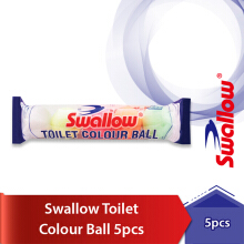 SWALLOW Toilet Kamper Colour Ball 5 pcs 200gr