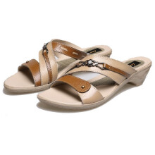 SANDAL HIGH HEELS / WEDGES KASUAL WANITA - BSP 128