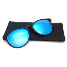 XQ-HD Coating Lens Clip On Eyeglasses Polarized Sunglasses For Moypia -One Size - Blue
