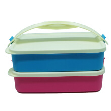 Lunch box rantang deluxe susun 2