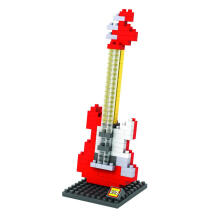 LOZ Medium 9192 Electric Guitar Red