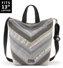 Sakroots Campus Tote Sling Bag Pastel One World