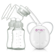 Jantens Double Electric breast pumps Powerful  USB Electric Breast Pump White