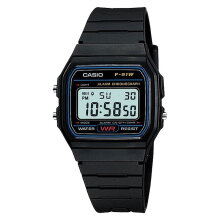 Casio F-91W-1DG - Resin Band [F-91W-1DG] - Black