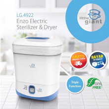 Little Giant Enzo Electric Sterilizer and Dryer / Pengering dan Penghangat Botol Bayi White