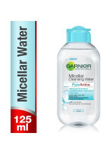 Garnier Micellar Cleansing Water Pure Active Acne Sensitive Skin Face Toner Makeup Remover Kulit Jerawat 125ml