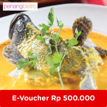 Penang Bistro - Voucher Value Rp 500.000