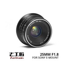 7Artisans For Sony 25mm f/1.8 APS-C Black