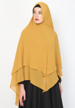 ALLEV Hasna Khimar - Mustard Yellow