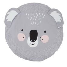 ANAK Baby Thick Round Soft Play Mat Infant Cotton Cushion Kids Seat Pad Floor Rug Koala Grey