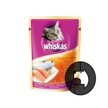 WHISKAS 85 gr adult mackerel and salmon