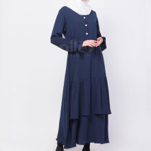 ALLEV Naila Dress - Navy