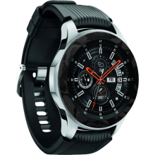 Exacoat Samsung Galaxy Watch 46mm Skin / Garskin - Black Camo Black Camo