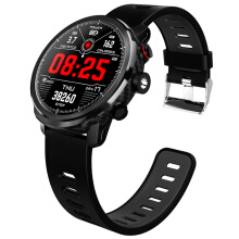 Microwear L5 Smart Watch 1.3 inch Nordic NRF52832 64KB RAM 512KB ROM Heart Rate Monitor IP68 Waterproof Bluetooth 4.0 380mAh Built-in