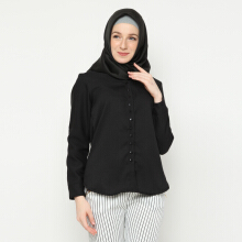 NAFEESA Tunik Jenna Black Allsize Black All Size