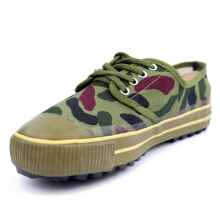 Zanzea 0051US Size 6.5-10.5 Men Outdoor Work Shoes Canvas Rubber Toe Anti Slip Sneakers Camouflage
